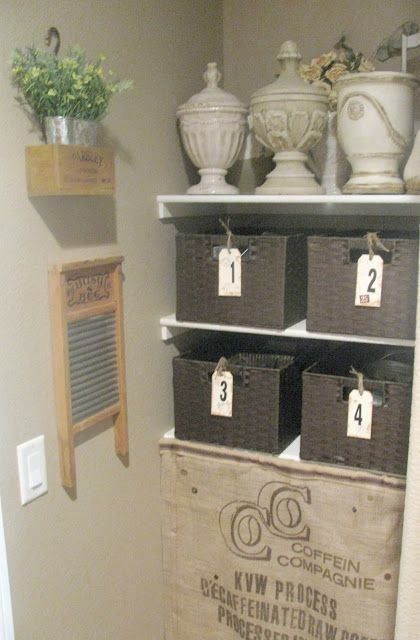 Washboard Laundry Room French Country