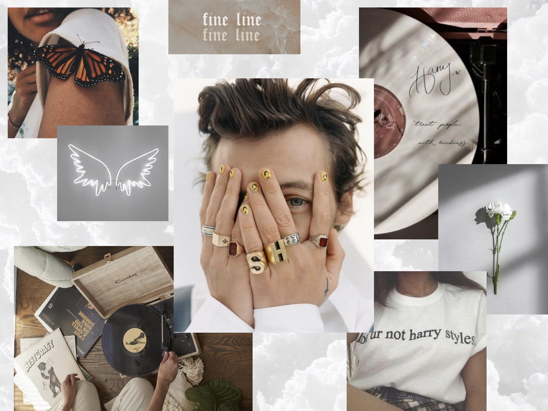 White Harry Styles Aesthetic Wallpaper For Ipad Harry Styles Wallpaper Harry Styles Lockscreen Harry Styles
