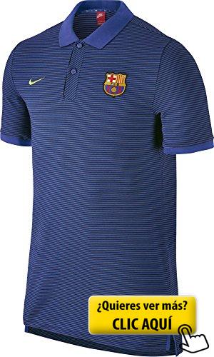 84878cfdf Nike Fcb Auth Gs Slim Polo Camiseta de Manga Corta...  camiseta ...