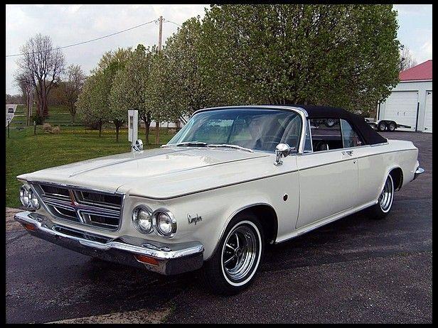 1964 Chrysler 300 K Convertible Chrysler 300 Chrysler Cars