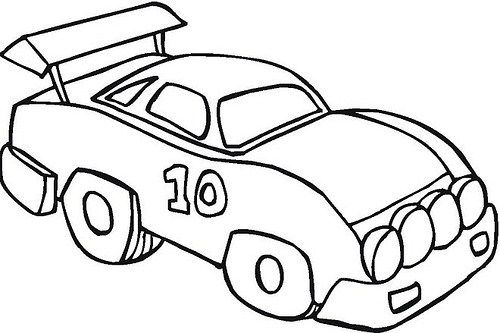 Dibujos e Imágenes de Carros para Colorear | Experimento | Pinterest ...