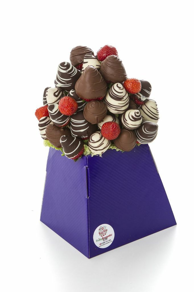 £30.00 Chocolate strawberry bouquet www.FruityBouquets.co.uk