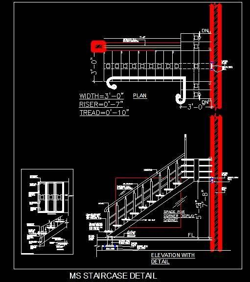 Ms Mild Steel Staircase And Railing Design Handrail Design