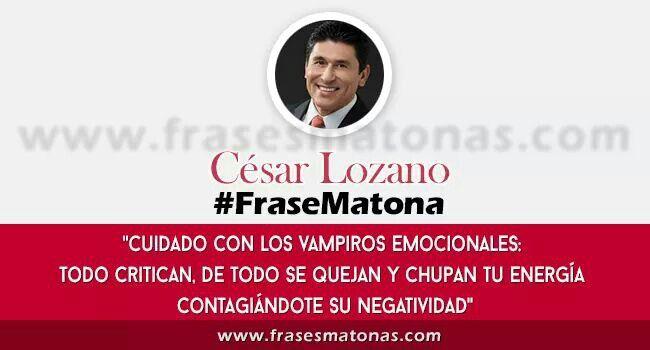 Doctor César Lozano.