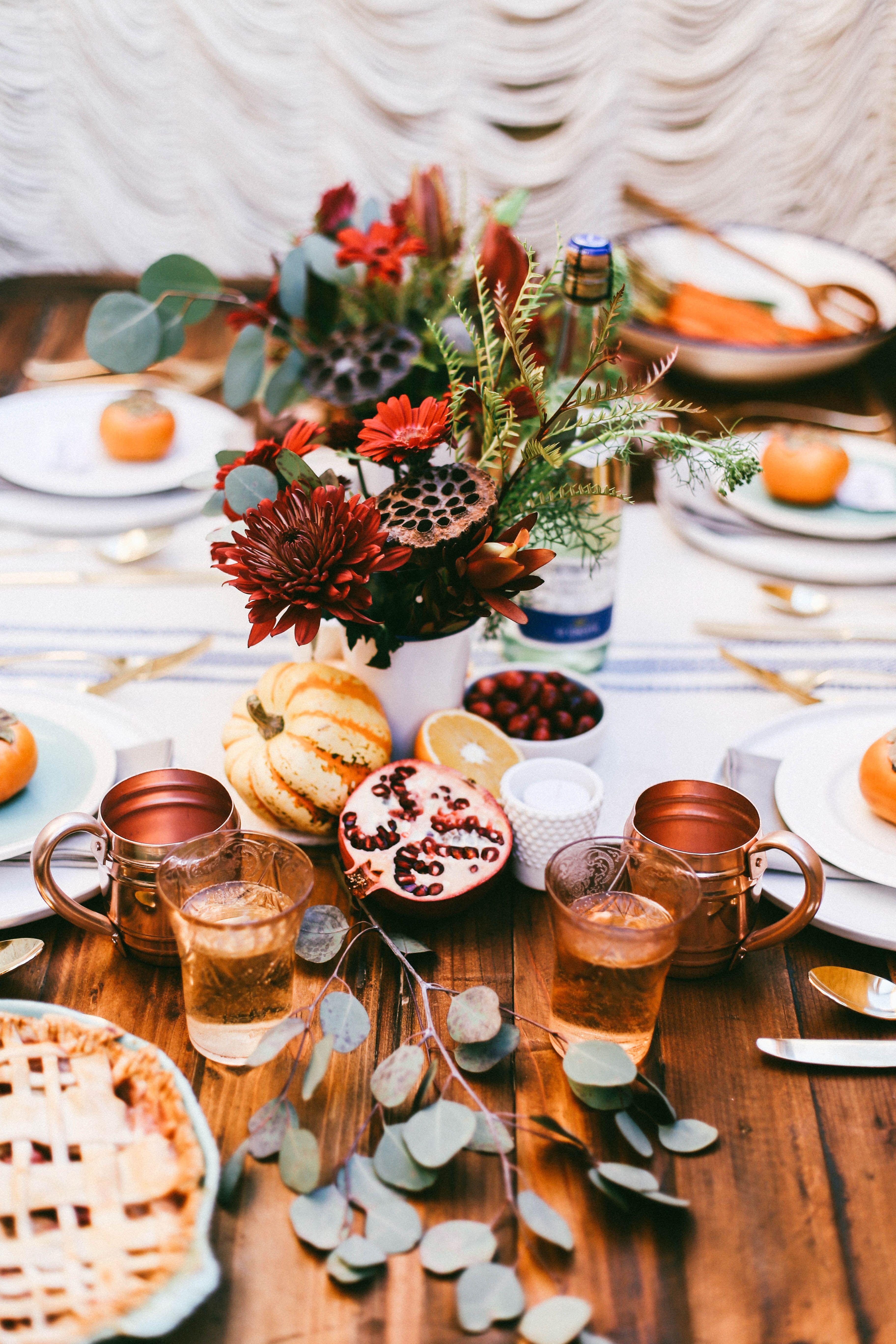 Bohemian Glam Table Setting | Dinner table setting ...