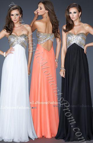 Long Prom Dress by La Femme 18710