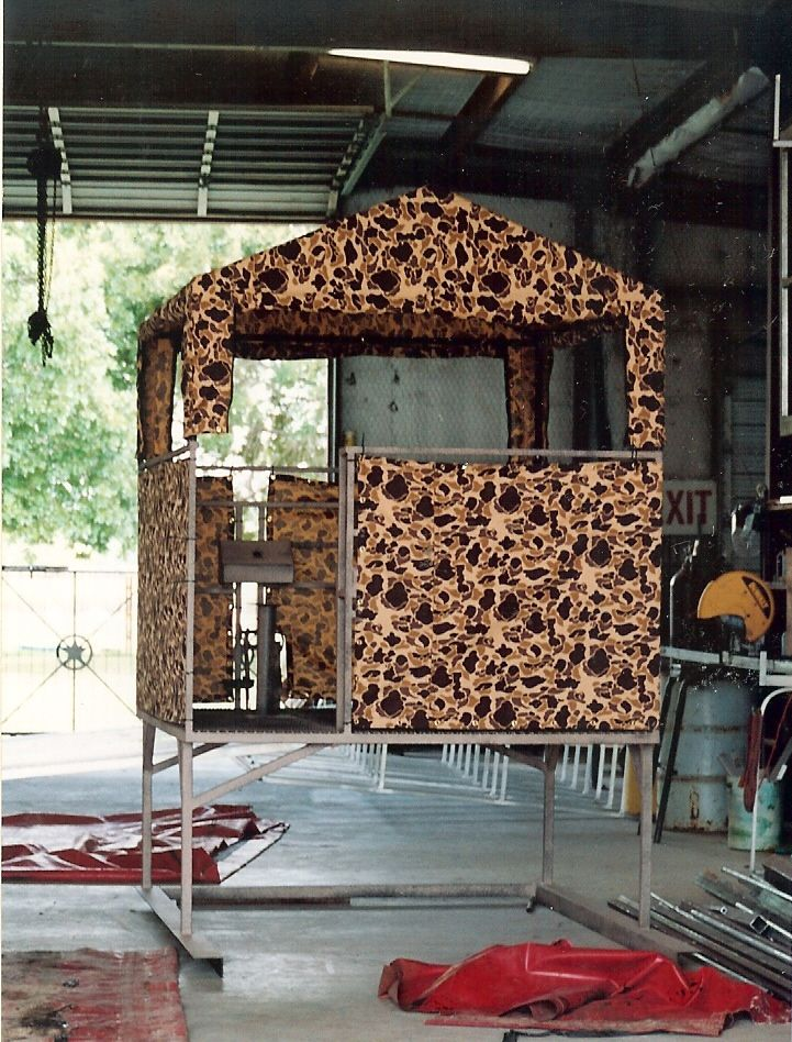 Camo Deer Blind Cover Special Covers Crossbow Hunting