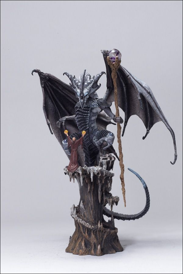 SORCERERS DRAGON CLAN 3 DELUXE BOXED SET MCFARLANE'S DRAGONS SERIES 3: QUEST FOR THE LOST KING