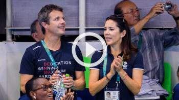 Kronprinsesse Mary og kronprins Frederik  har nydt den danske indledning på OL i Rio