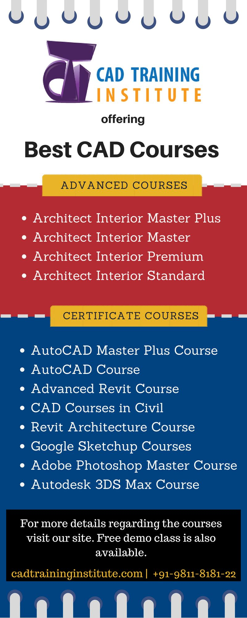 This infographic is all about the best courses offered by cad training institute in delhi also architect and interior designing  most common popular rh pinterest
