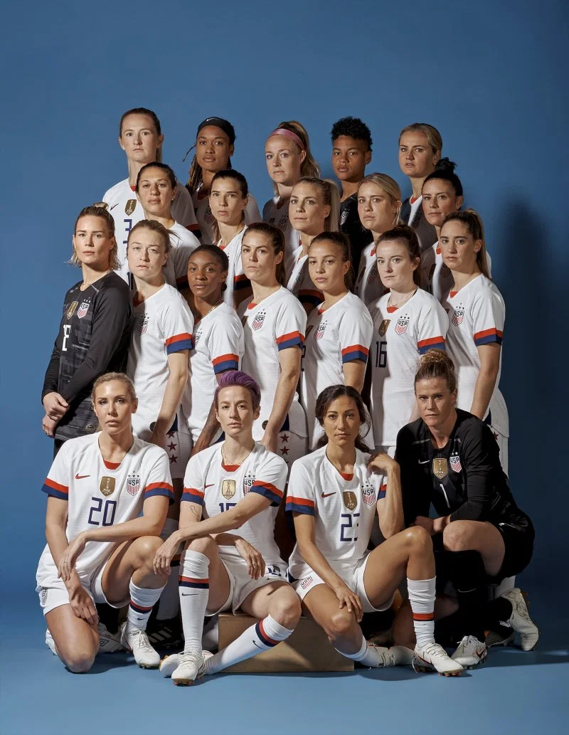 Time S Best Portraits Of 2019 In 2020 Usa Soccer Women Us Women S National Soccer Team Usa Soccer Team