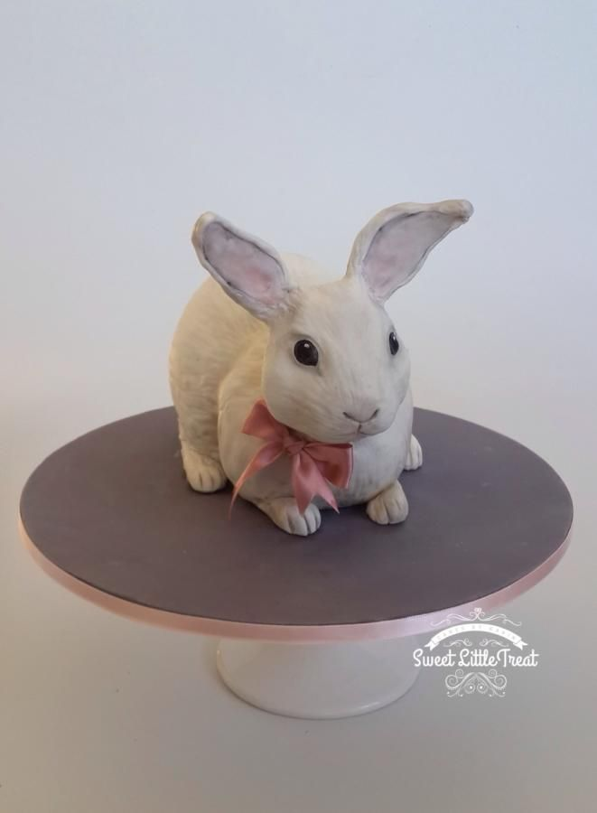 Realistic bunny | Realistic cakes, Easter bunny cake, Rabbit cake