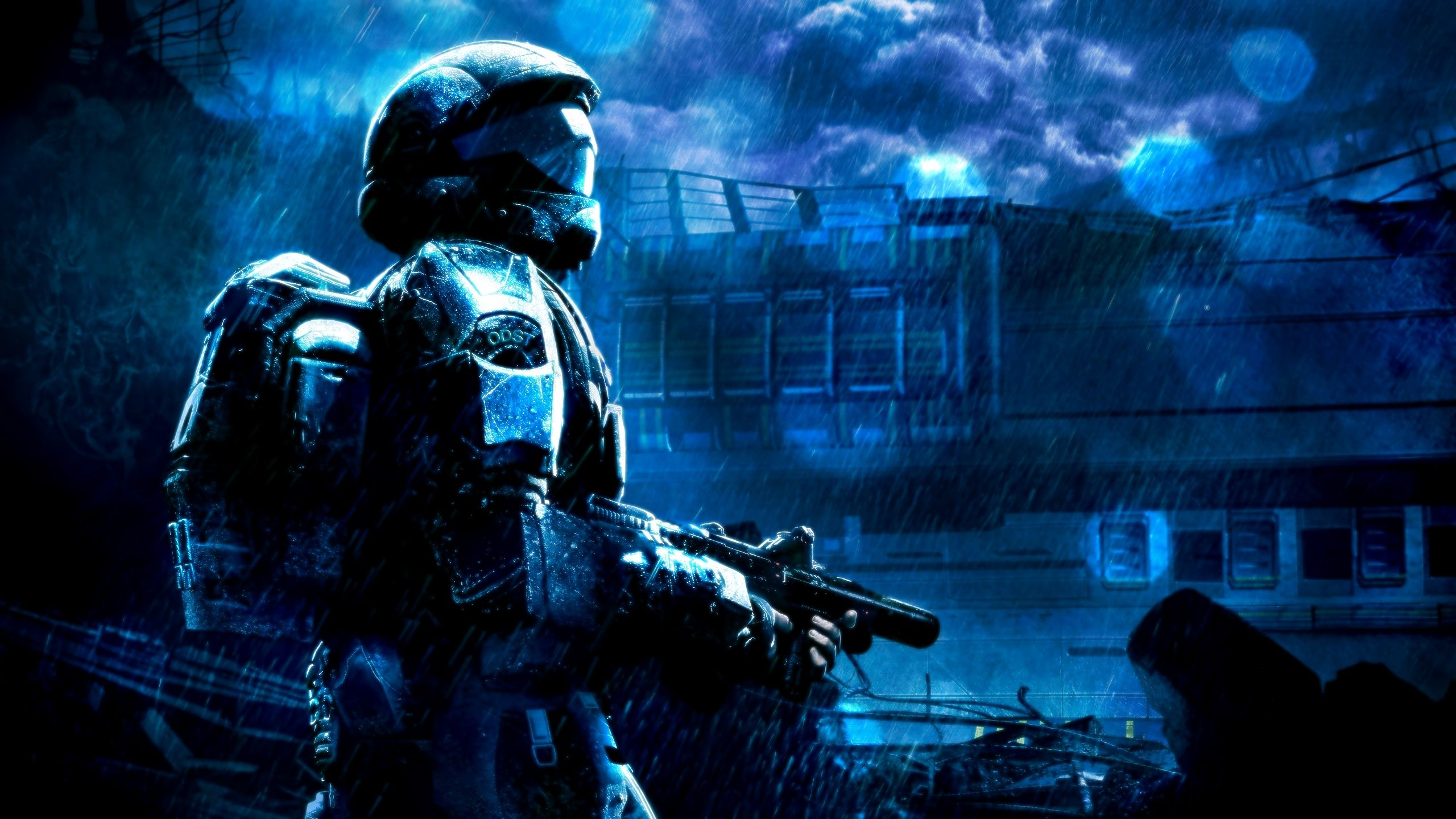 10 Latest Halo 3 Odst Wallpapers Full Hd 1080p For Pc Background Cool Backgrounds Halo 3 Odst New Halo