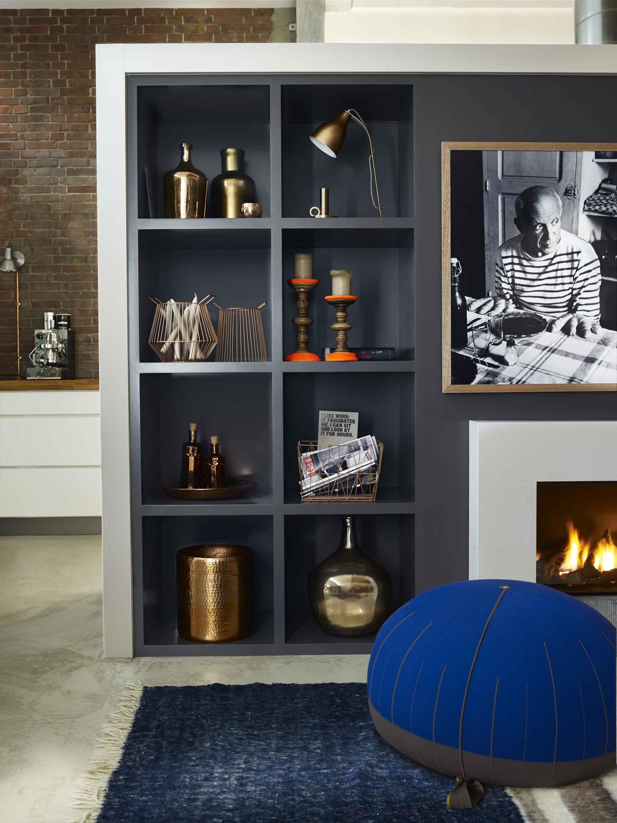 Op maat gemaakte kast roomdivider woonkamer pinterest kasten kast en interieur - Tijdschrift interieur decoratie ...