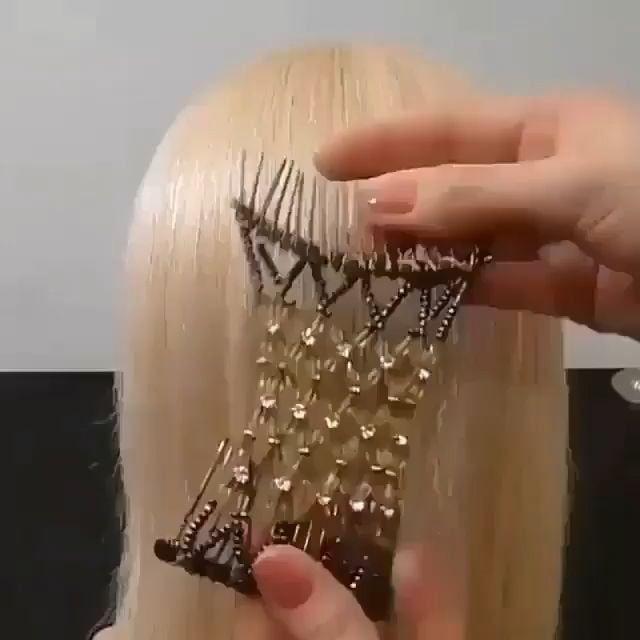Frisiere mühelos Dutzende Wege!  #dutzende #frisiere #hairstyle #muhelos