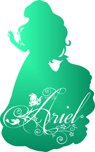 Ariel Silhouette Disney Princess Photo 37757451 Fanpop