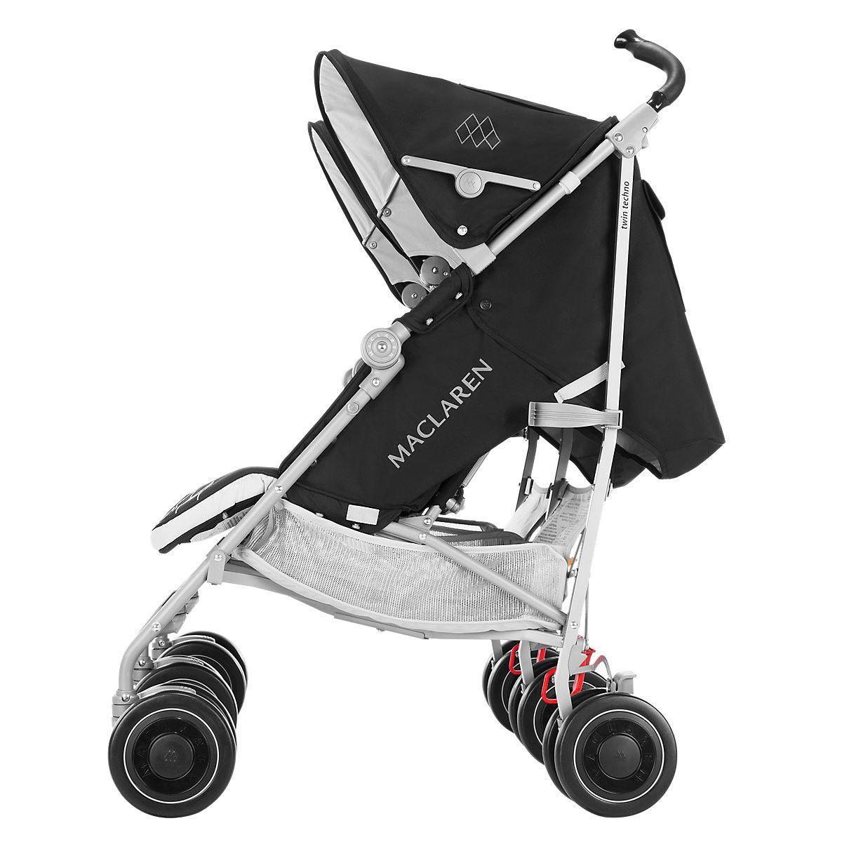 Maclaren Twin Techno Twin strollers, Double strollers