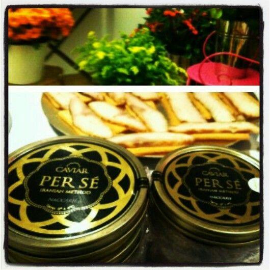 Caviar Per Sé en inauguración de #Aspesi C/ Jorge Juan, 5