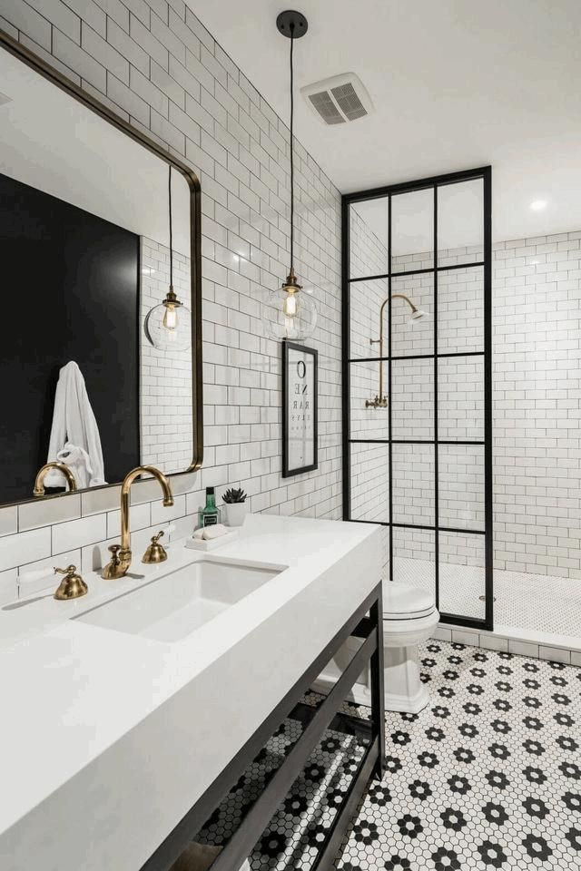 Beautiful Image result for bathroom shower with black industrial shower doors Top Search - Lovely bathroom shower doors HD