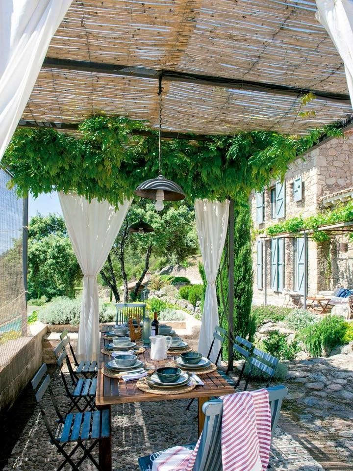 The only place we want to be this summer. | Pergolas | Pinterest ...