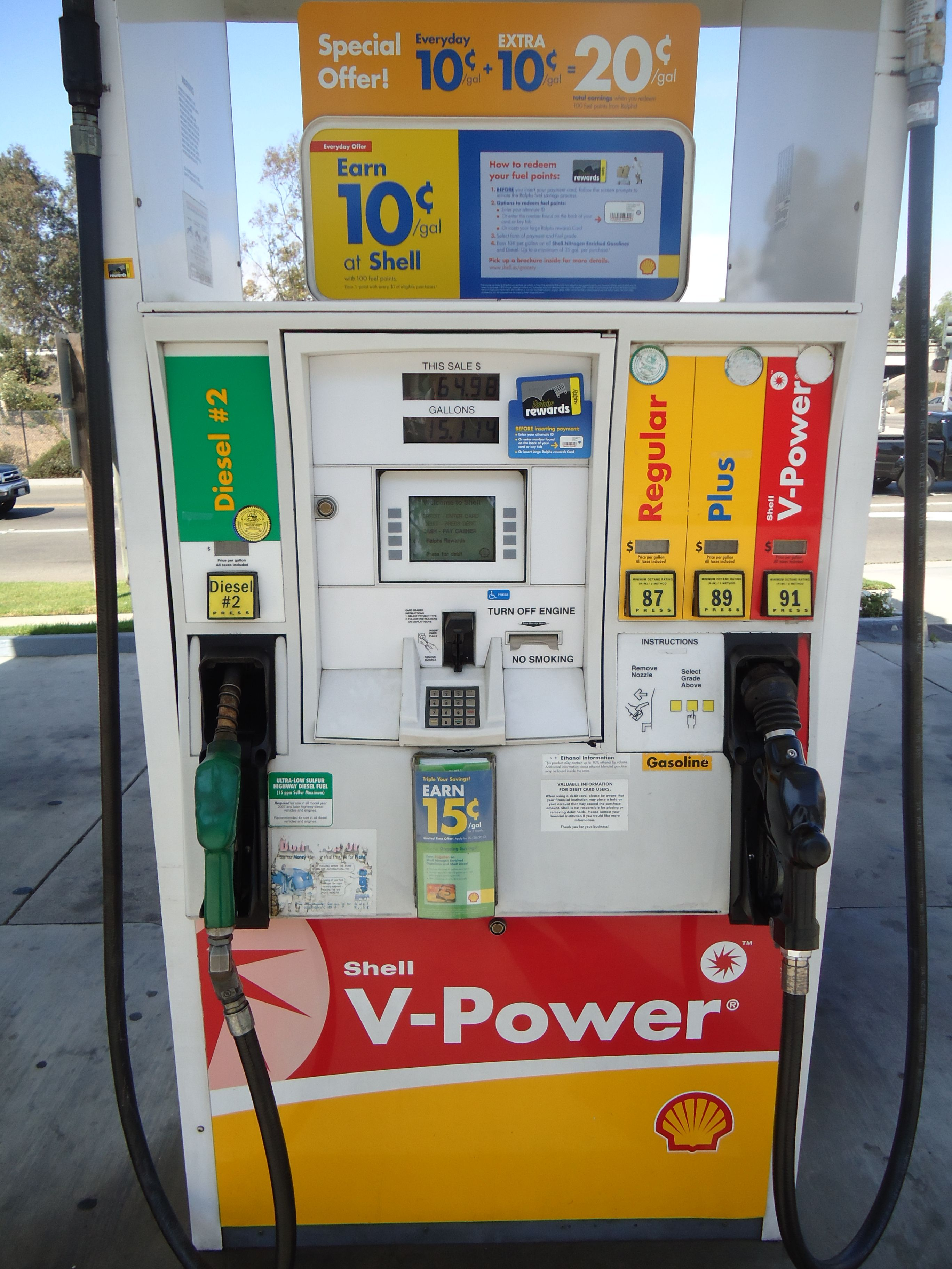 Ralphs Gas Station >> Gas Station Santa Maria Shell Gas Station Santa Maria