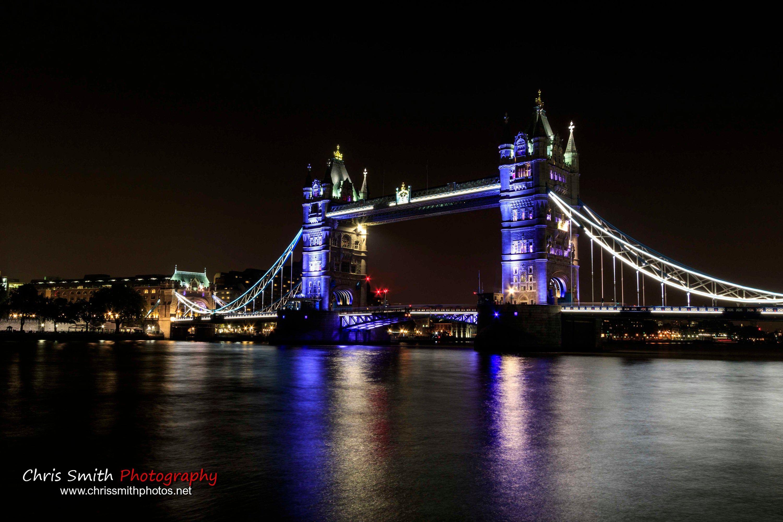 Tower Bridge London A4 Print By Landscape And Nature Photographer Chris Smith Nature Photographs Tower Bridge London Night