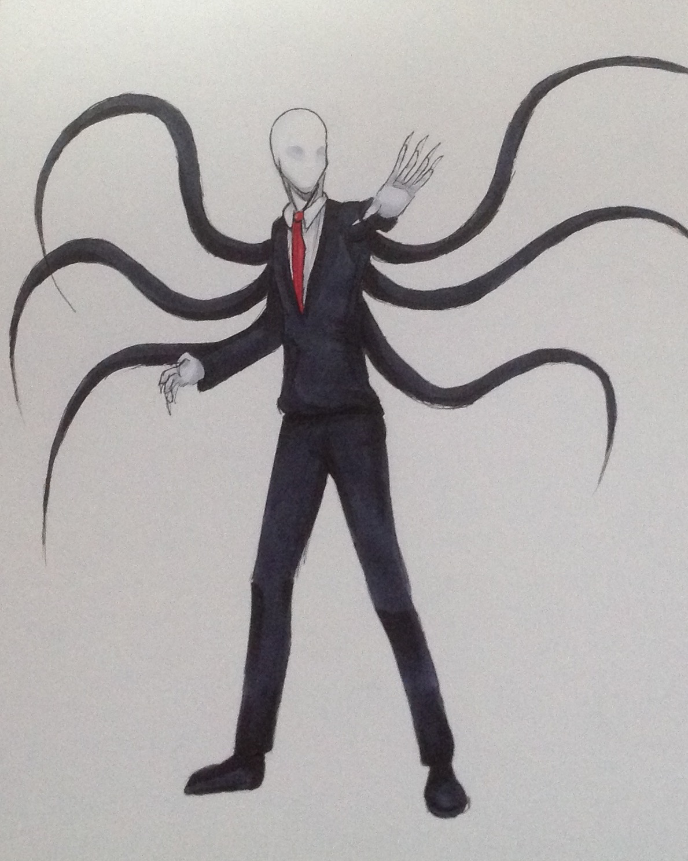 Slender Man Dibujos De Slenderman Creepypastas Crepypasta