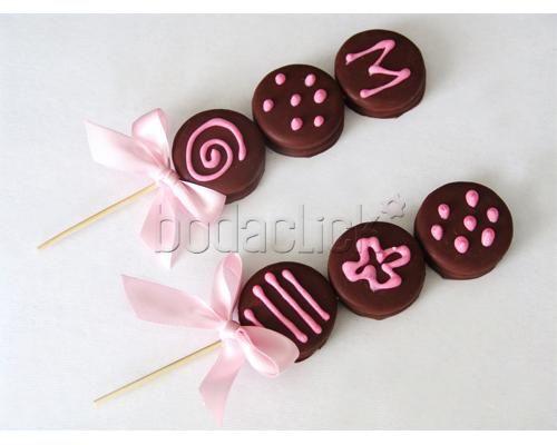 Brochetas  Clarabella   Cupckaes para la boda   Saltillo dulces