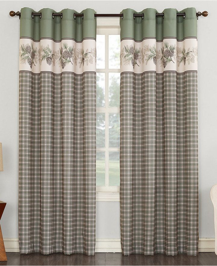 Lichtenberg No 918 Berkshire 56 X 63 Grommet Curtain Panel Bedding