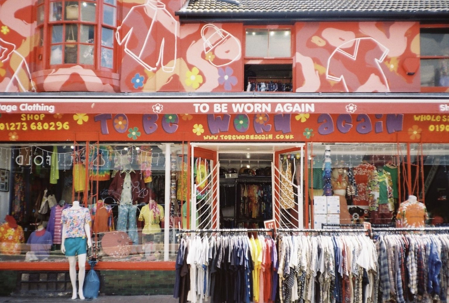 A Very Cute Thrift Store In Brighton On 35mm Film In 2020 Aged Clothing Film Photography Brighton