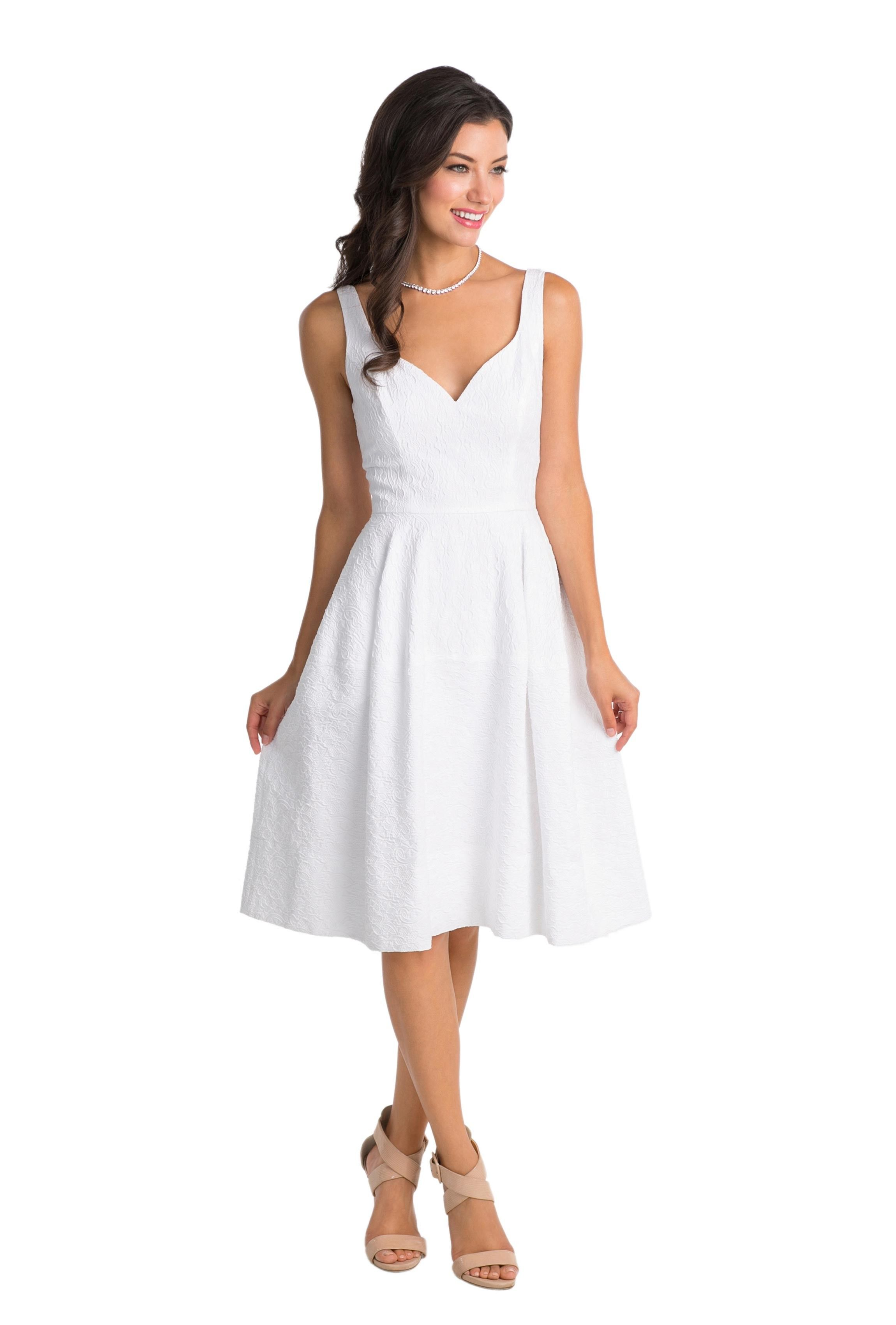 Where can i rent a wedding dress  A short white sweetheart aline dress for a short casual wedding or
