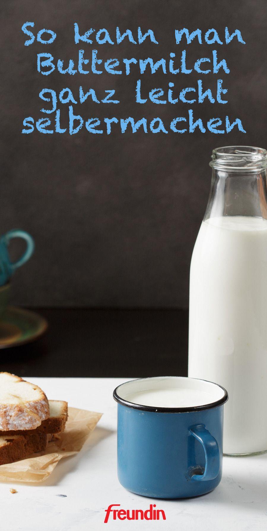 buttermilch selber machen