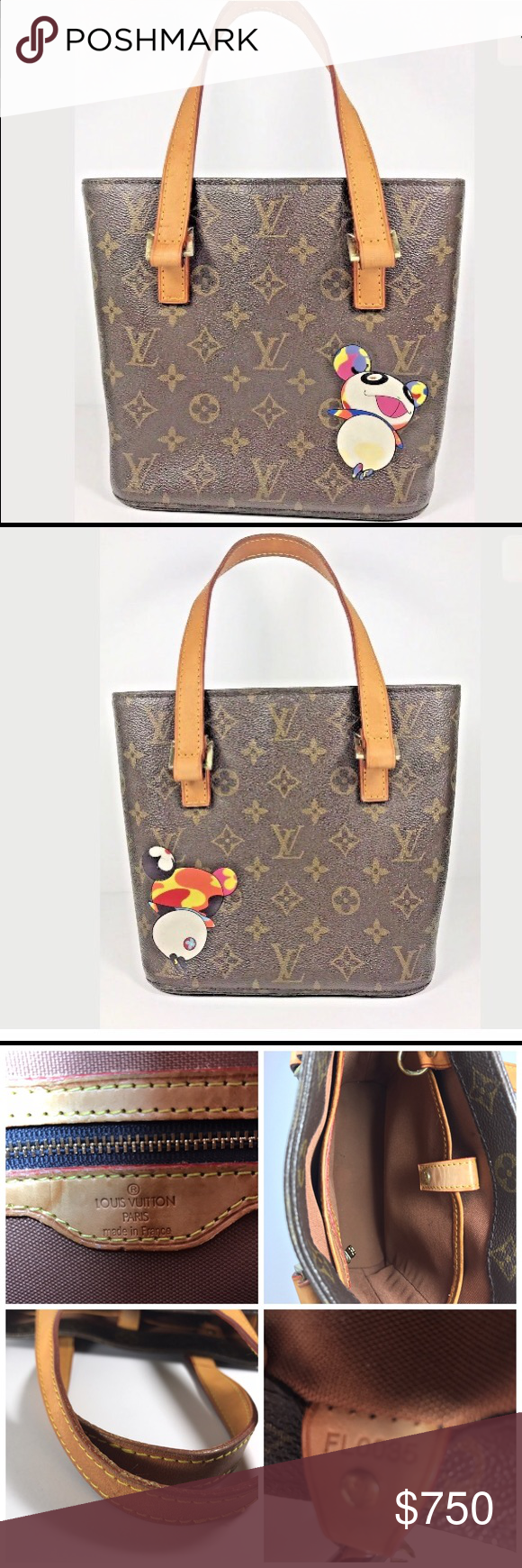 c768829a271c Authentic LOUIS VUITTON Vavin PM Murakami Panda ❤️Very good condition❤ Date  code