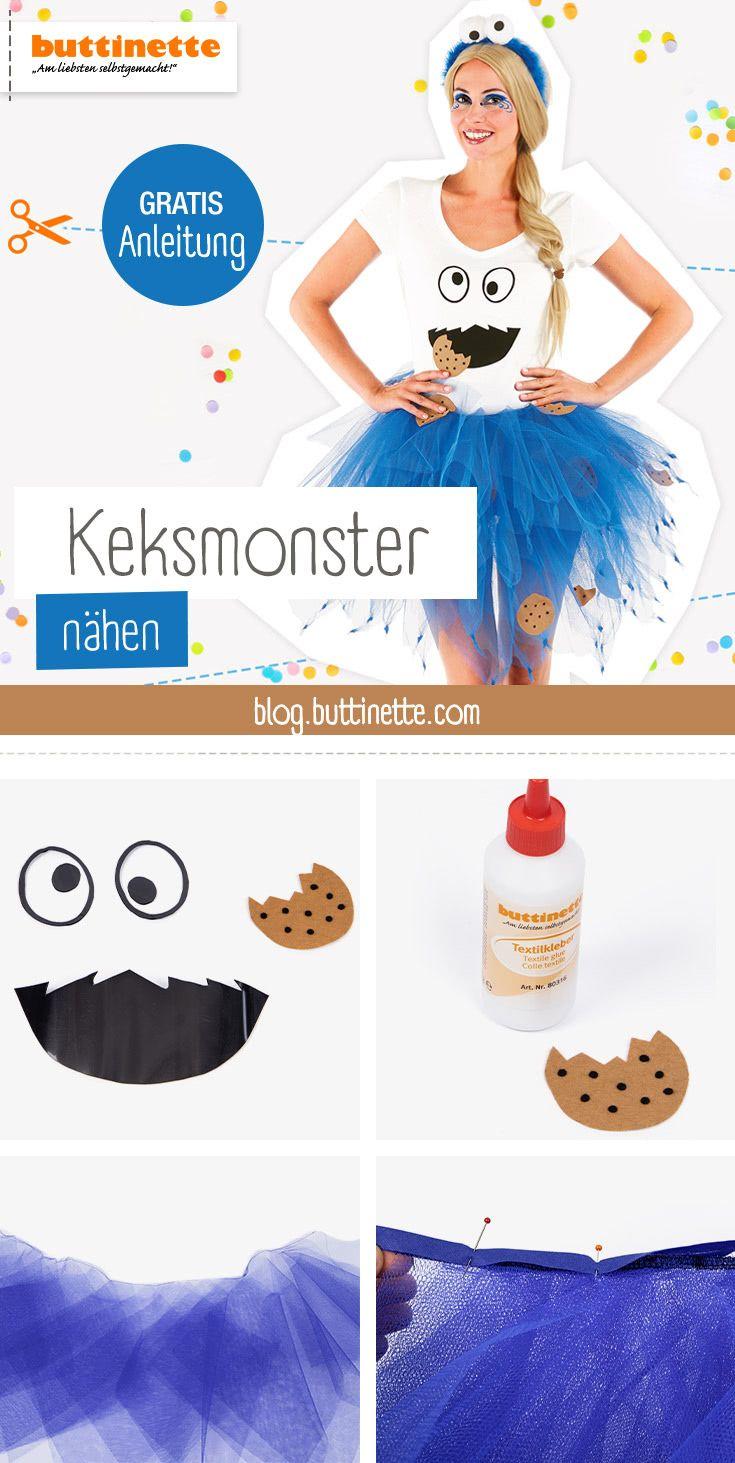 DIY-Kostüm: Keksmonster