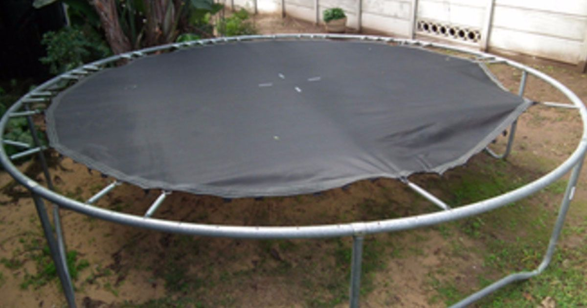 Don't toss out your old trampoline. Instead, try these 12