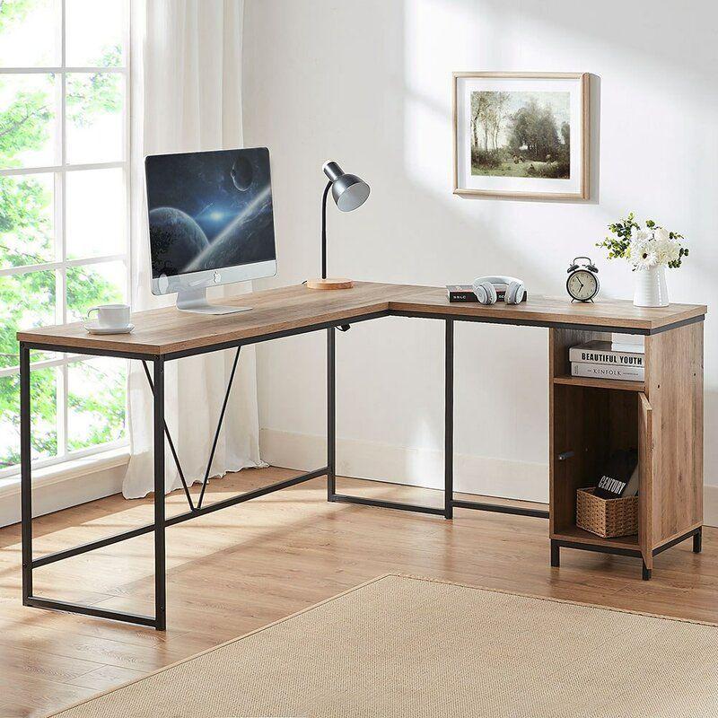 17 Stories Cranmer Reversible L Shape Desk Reviews Wayfair Corner Desk Desk Computer Desk