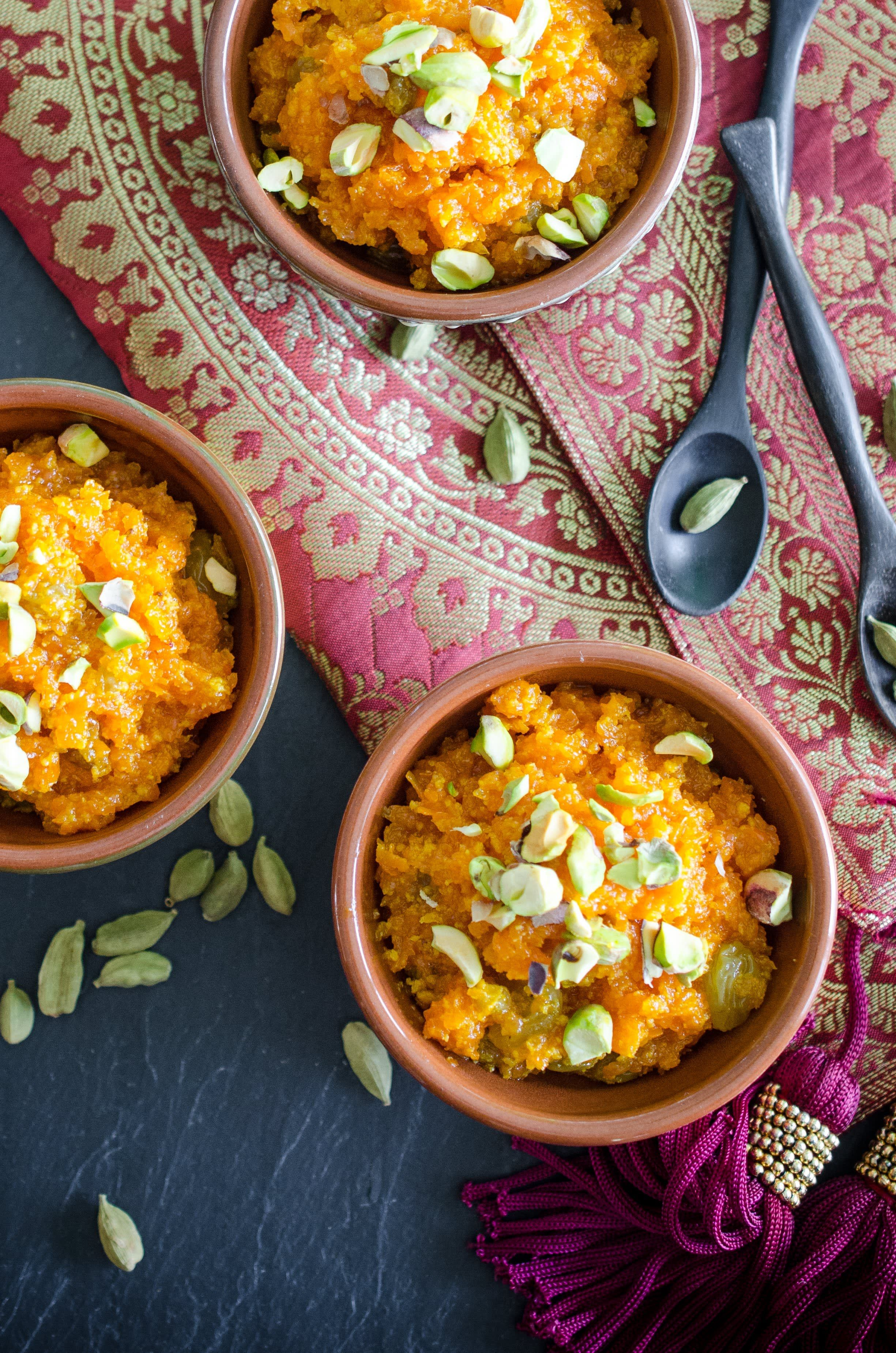 Carrot Halwa Recipe With Images Indian Food Recipes Carrot