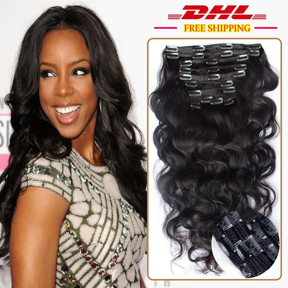 7a clip in human hair extensions brazilian body wave human hair 7a clip in human hair extensions brazilian body wave human hair clip in hair extensions 9pcs pmusecretfo Images
