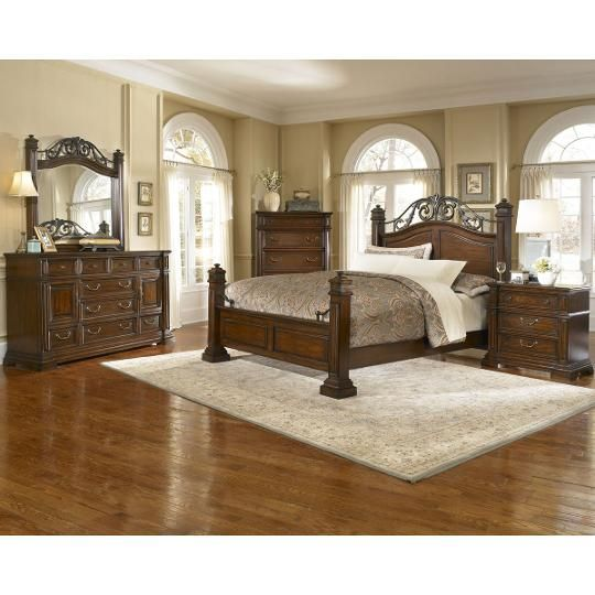 Progressive 6 Piece California King Bedroom Set Bedroom