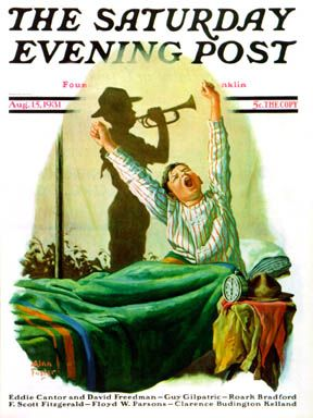 Sat Eve Post Cover  -  Aug 15 1931