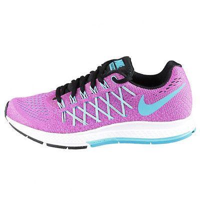 3057ae9b9242 Nike Air Zoom Pegasus 32 Womens 749344-501 Violet Blue Mesh Running Shoes  Sz 7.5