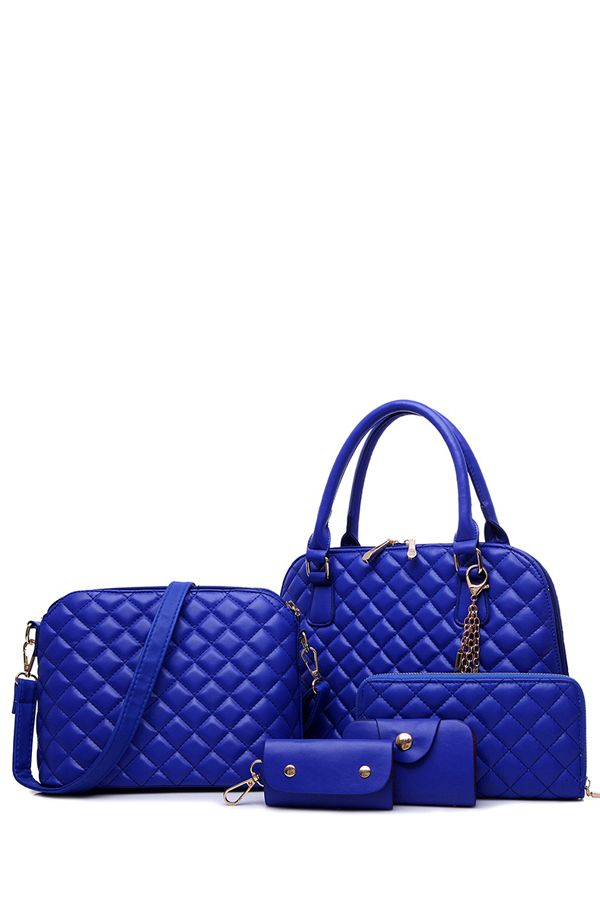 Checked Metal Butterfly Tote Bag AU$49.88