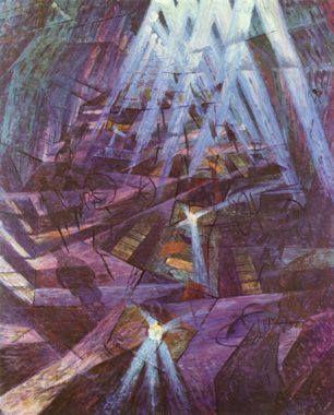 As forças de uma rua, 1911. Disponivel em: Martin, Sylvia; Futurismo, 2005, 95 p.