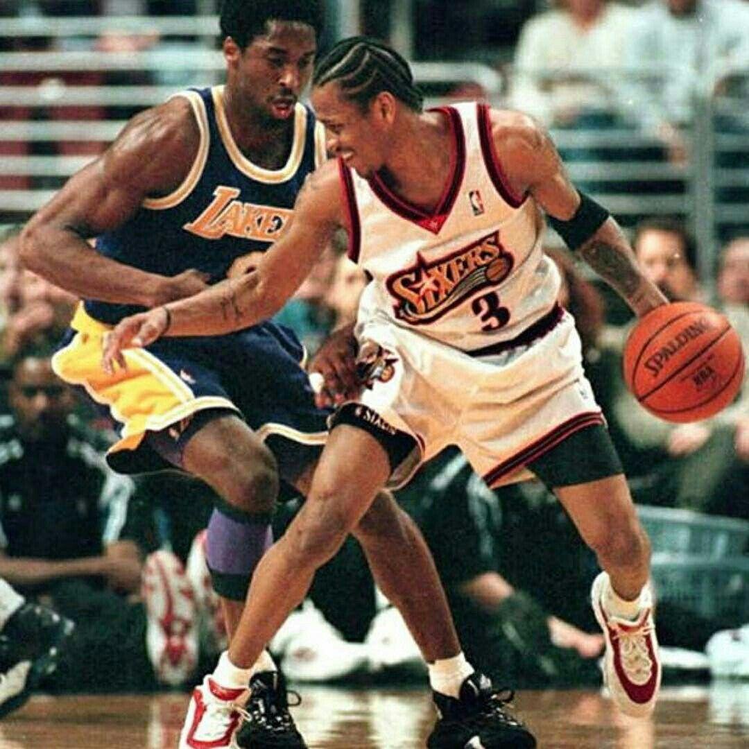 Kobe Bryant vs Allen Iverson   Allen Iverson   Pinterest ...