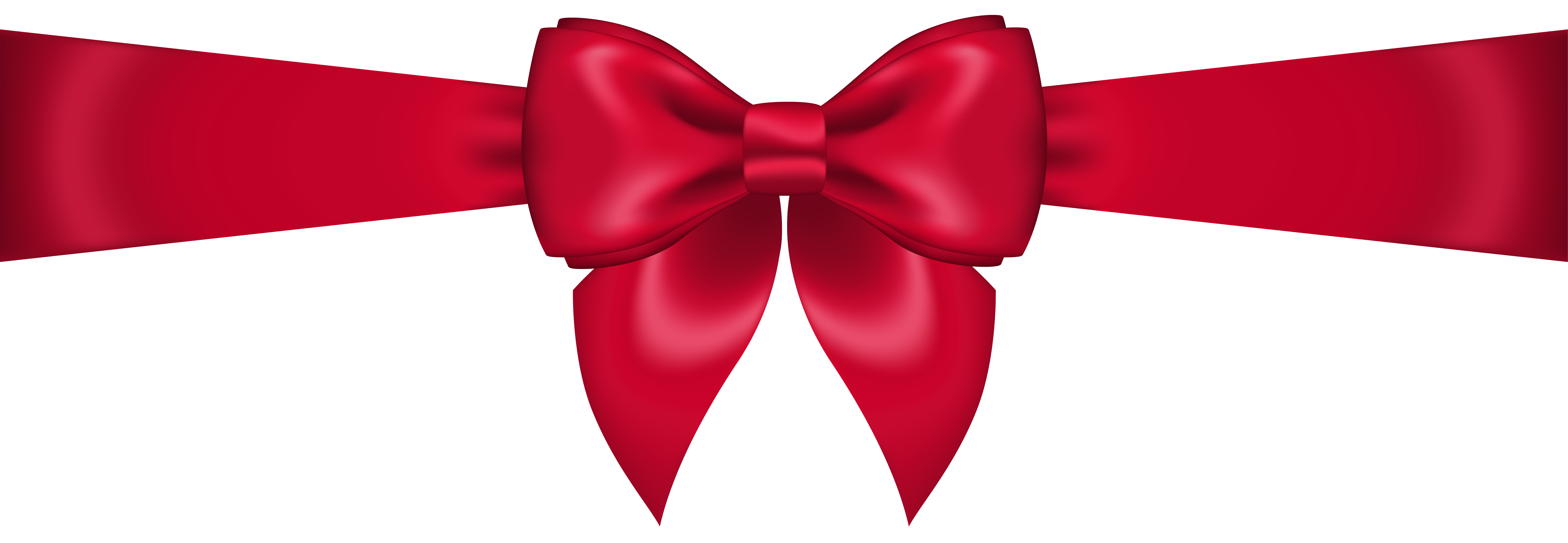 red bow transparent png clip art