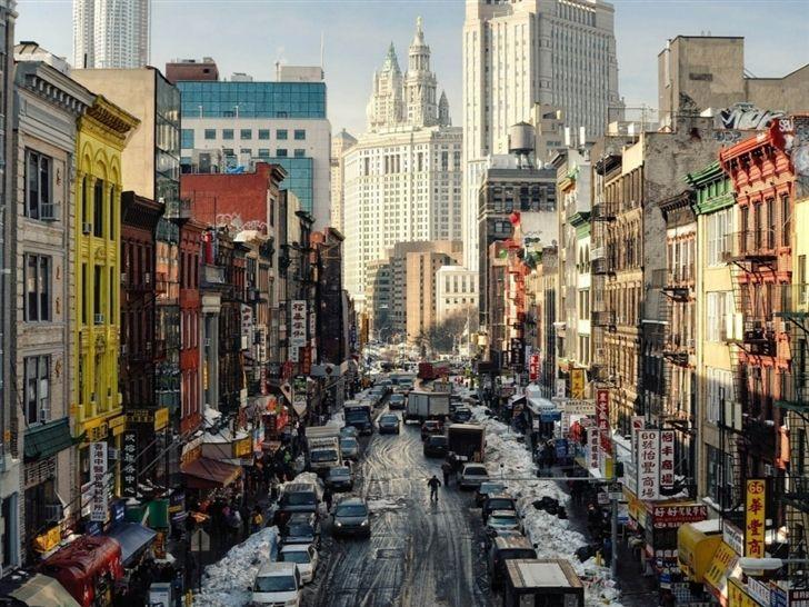 New York Street Ny Usa Mac Wallpaper Download Free Mac Wallpapers Download New York New York Street City