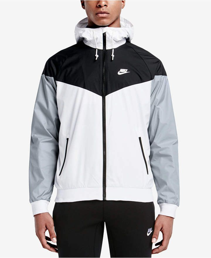 Blue Windrunner S Nike Colorblocked Jacket Men's In 2018 1Pn4qwIS4x