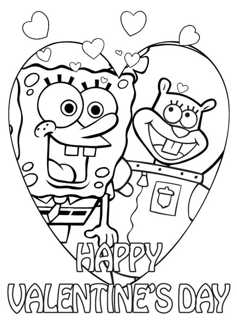 print out valentines day coloring pages in 2020