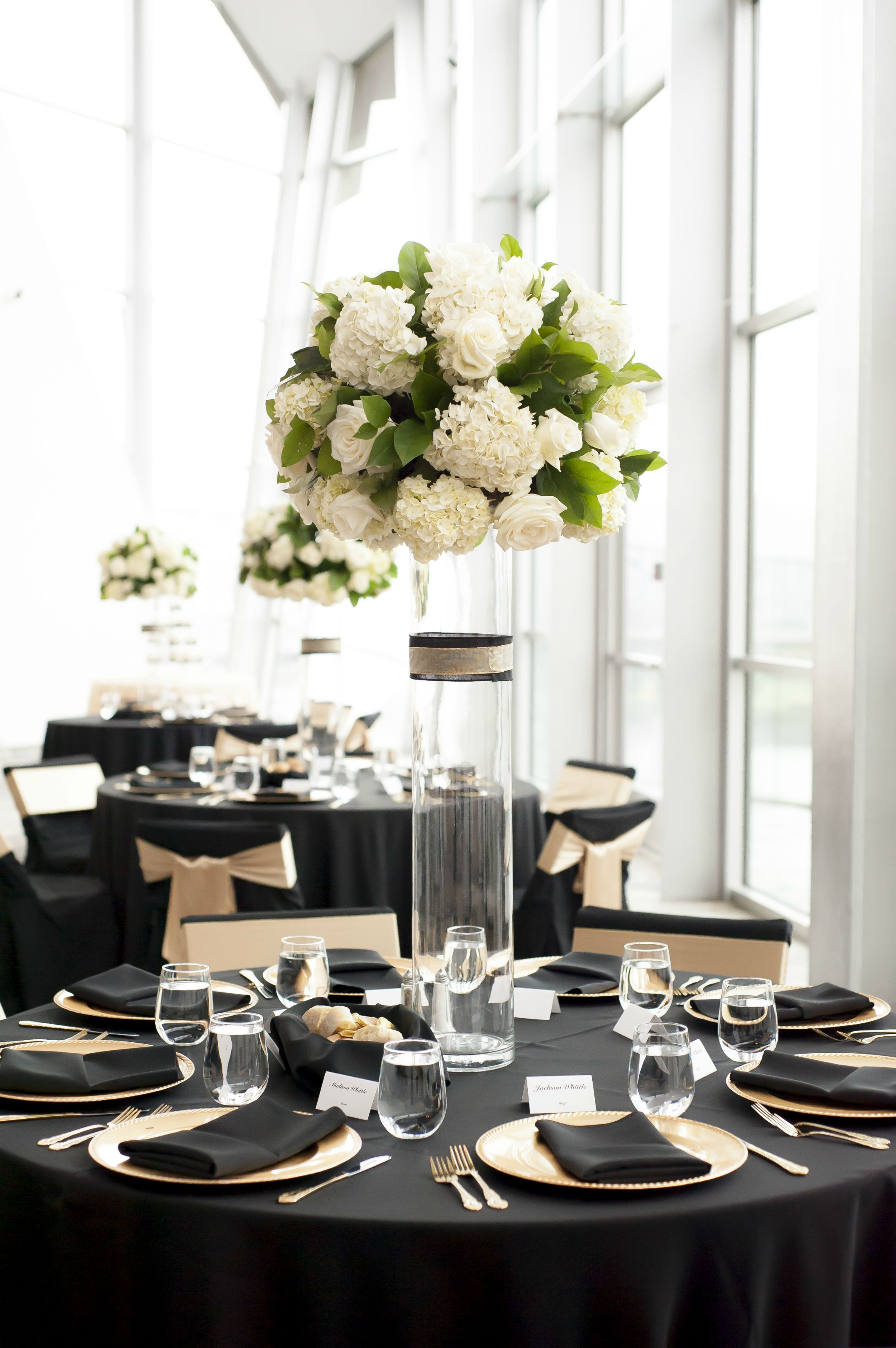 Wedding Reception | White roses, Gold weddings and Reception