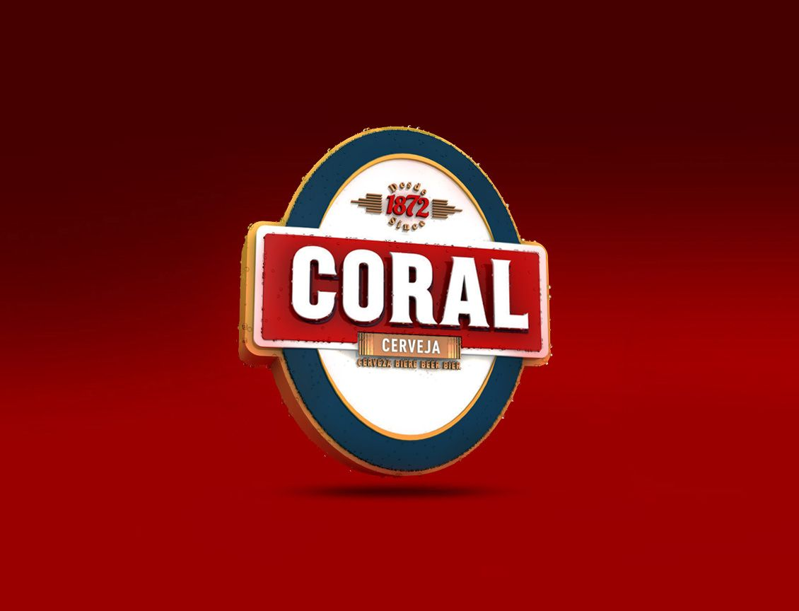 CORAL is a portuguese beer, produced in Madeira by Empresa de ...